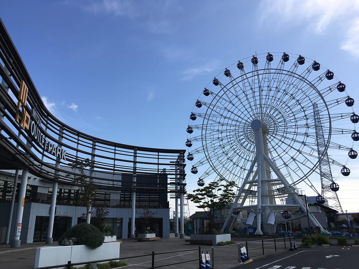三井アウトレットパーク仙台港 観覧車 「ポートフラワー」