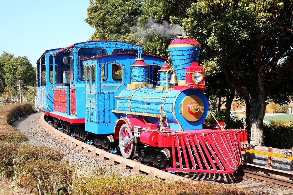 NEWレオマワールド_バードランド内を回れる遊覧列車キンダーガーデンレイルロード